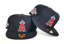 New Era Navy Blue Los Angeles Angels 2010 All Star Game Side Patch Fitted hat