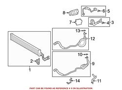 For Bmw Genuine Automatic Transmission Oil Cooler Hose Assembly 17227583183