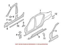 For Bmw Genuine Body A-pillar Front Right Inner 41217295236
