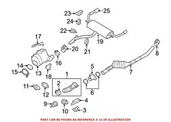 For Bmw Genuine Exhaust Pipe 18308512287