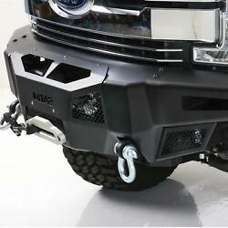 Smittybilt M1a2 Front D-ring Bumper W/lights 17-18 For Ford Superduty 612931