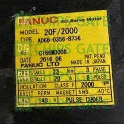 1pcs Used Fanuc A06b-0356-b756 Tested In Good Condition