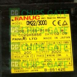 1pcs Used Fanuc A06b-0165-b189 Tested In Good Condition