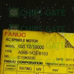 1pcs Used Fanuc Servo Motor A06b-1428-b103 Tested In Good Condition