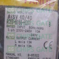 1pcs Brand New In Box Fanuc A06b-6166-h203 Fast Ship With Warranty