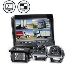 Rearview Safety 9 Backup Camera System W/quad View Monitor 2 Side 1 Rear Camera