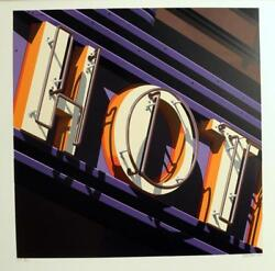 Robert Cottingham American Signs 2009 Hot Serigraph, Signed And Numbered Ed.100