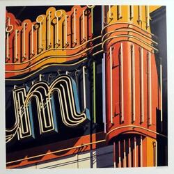 Robert Cottingham American Signs 2009 M Serigraph, Signed And Numbered Ed.100
