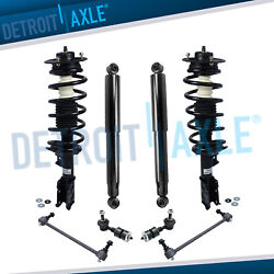 Front Struts + Rear Shocks + Sway Bars For 2006 Chevy Equinox Pontiac Torrent