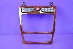 01-05 Mercedes W203 C230 C320 C240 Climate Control Heated Seat Switch Bezel OEM
