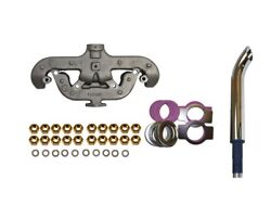 Allis Chalmers D17 Wc Wd Wd45 Exhaust Manifold Kit With Chrome Exhaust Muffler