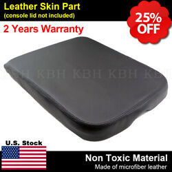 Fits Dodge Ram 2002-2008 Center Console Armrest Cover Leather Synthetic Black