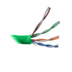 Belden 2413f 23 Awg 4p F/utp-cmp Green Enhanced Nonbonded-pair Sctp Cable