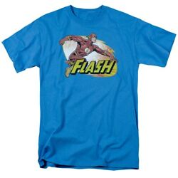 Justice League Of America Flash Zoom T-shirt Dc Comics Sizes S-3x New