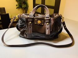 Brown Over Shoulder marc by marc jacobs hand bag With Gold Hardware $115.00