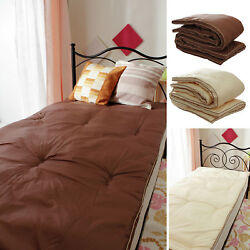 Compact Mattress Distributing Body Pressure Mille-feuille Structure 8-layer