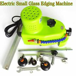 Straight Round Bevel Edge Trimmer Grinder Electric Small Glass Edging Machine