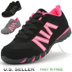 Girl's Casual Sneaker Athletic Tennis Shoes Walking Running Lace-Up Suede Kids
