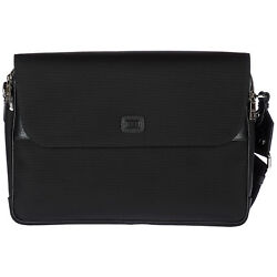 DOLCE&GABBANA MEN'S CROSS-BODY MESSENGER SHOULDER BAG NEW BLACK 41C