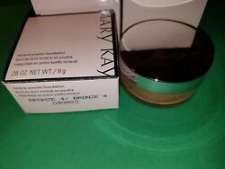 MARY KAY MINERAL POWDER FOUNDATION W BRUSH  or 2  BRUSHES : Pick with Code :