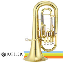 New Jupiter Jep1000 Key Of Bb Lacquer Brass Body 4-valve Euphonium With Case