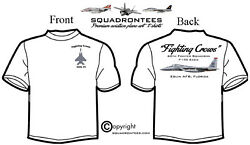 60th Fs Fighting Crows F-15c - Premium Art Product, Long Or Short Sleeve