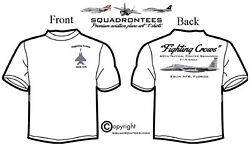 60th Tfs Fighting Crows F-15c - Premium Art Product, Long Or Short Sleeve D-2