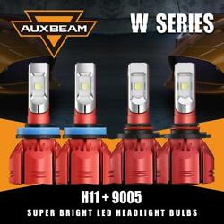 Auxbeam 9005 H11 LED Headlight Canbus Bulb for 09-10 Dodge Ram 1500 2500 3500