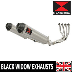 Z900rs And Cafe 4-2 De-cat Race Exhaust System + Round Stainless+carbon Tip Sc37r