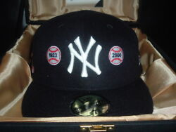 New Era Yankee 2004 Limited Edition Hat Capture The Flag 59 Fifty Size 7 3/4