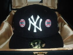 New Era 59fifty Yankee 2004 Limited Edition Hat Capture The Flag Size 7 5/8