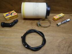 1983 83 Honda Atc185s Air Filter Cleaner Spark Plug Coil Wire Cable Cap Boot Atc