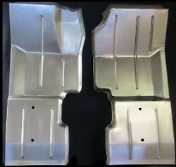 Jeep Cj5 Full Length Front Floor Pan Pair Left And Right 1976-1983