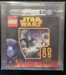LEGO STAR WARS VADER 155 SEALED 2005 NYCC SDCC TOY FAIR VIP GALA PACKAGE GRADED