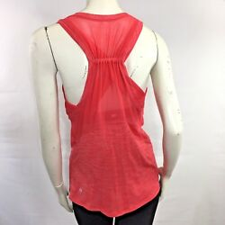 Lululemon Size 6 Work The Circuit Tank Top Heathered Lush Coral