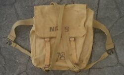 Ww2 Patt Large Pack - Comp With All Straps British Australian Canadian Army Used