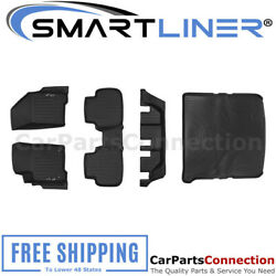 Smartliner Floormats Cargo Liner Black For 12-18 Journey A0198/b0198/c0198/d0198