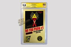 Do You Pooh? #1 Legend Of Zelda METAL COVER 1 OF 1 - SIGNED JPG MCFLY CGC 9.8