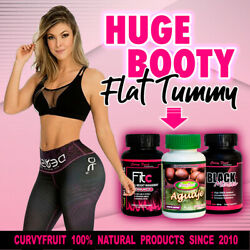 Big Booty And Flat Tummy Pills Results Just In Weeks W/ Aguaje Black Maca And Fit C