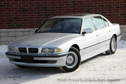 2001 BMW 7 Series 740iL 2001 BMW 740iL Sunroof Front and Rear Heated Leather Seats Alloy Wheels