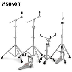 Sonor 4000 Series Hs-4000 Drum Hardware Pack Boom And Snare Stand Hi Hat Pedal