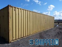 MASSIVE SALE! USED WWT 40FT HIGH CUBE SHIPPING CONTAINER IN LAKELAND FLORIDA