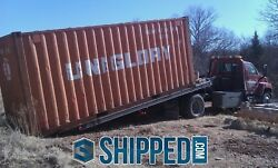 AVAILABLE ASAP!!! IN LAKELAND FLORIDA USED 20FT WWT SHIPPING CONTAINER