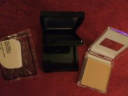 Mary Kay Creme to Powder IVORY 5 COMPACT Mini & SPONGES Lot of 3 NEW!