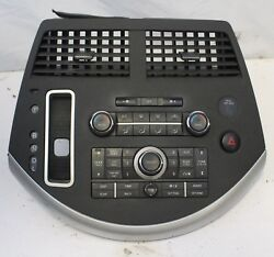 07 08 09 NISSAN QUEST RADIO A/C CLIMATE TEMPERATURE CONTROL PANEL FACE PLATE OEM