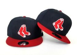 New Era Team Color Tube Sox Navy Red Boston Red Sox 9Fifty Snapback Hat