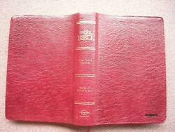 The Master Study Bible Kjv Leather Thumb Indexed Cornerstone 2001 Vg