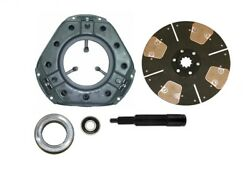 Heavy Duty 4-pad Clutch Kit Ford Tractor 501 541 601 621 631 640 641 651