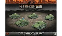 Battlefront FoW WWII Soviet 15mm T-70 Tank Company Pack SW