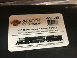 Broadway Limited HO #3942 UP 4-6-6-4 Challenger Steam Engine Paragon 3 4978